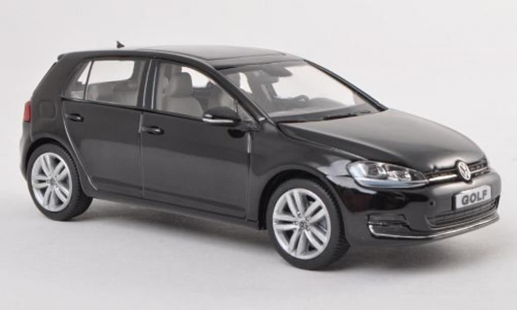 Volkswagen Golf VII 1/43 Herpa black 5-Turer diecast model cars