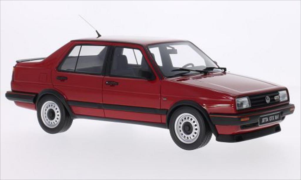 Volkswagen Jetta 1/18 Ottomobile GTX 16V rouge 1987 miniature