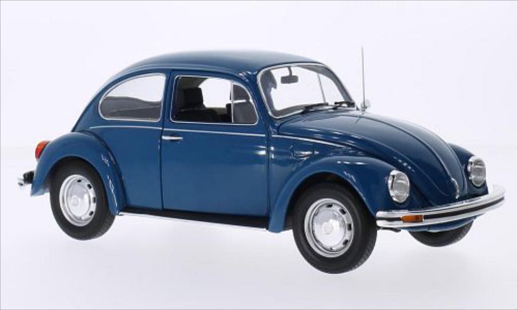 Volkswagen Kafer 1/18 Minichamps 1200 bleu 1983 diecast