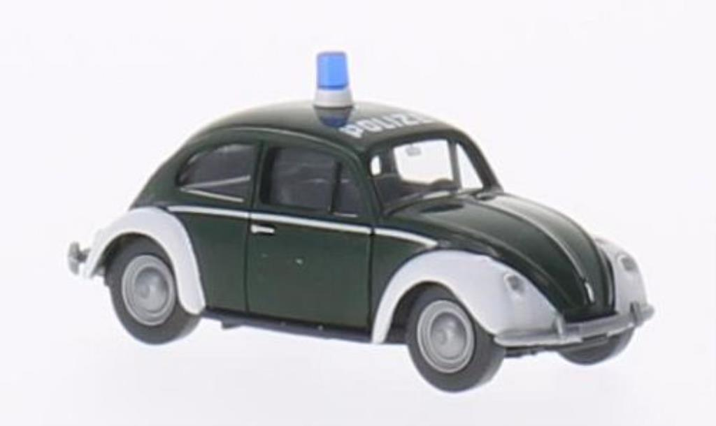 Volkswagen Kafer 1/87 Wiking 1200 Polizei miniature