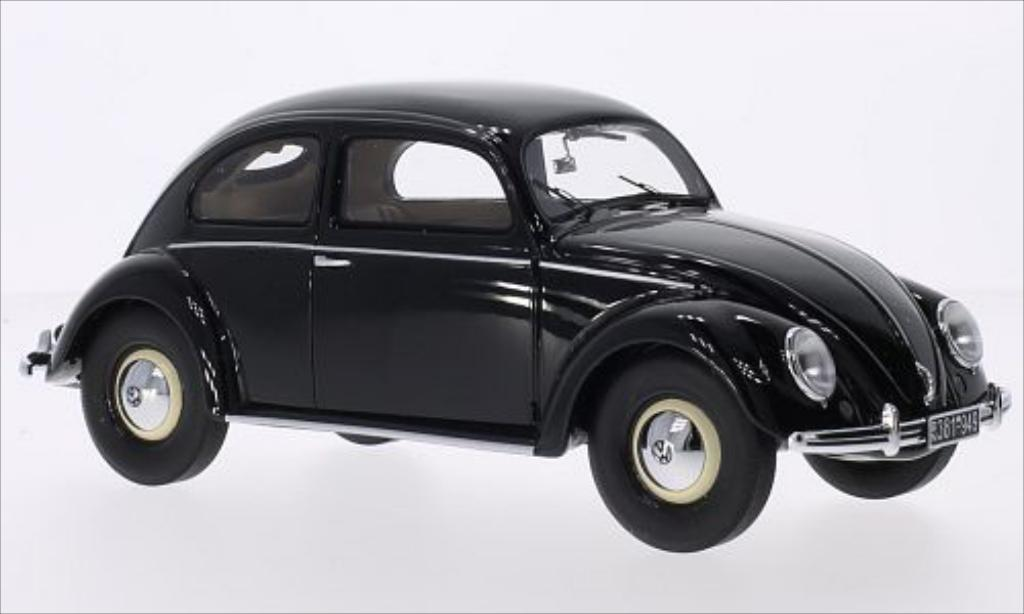 Volkswagen Kafer 1/18 Minichamps 1200 noire 1949