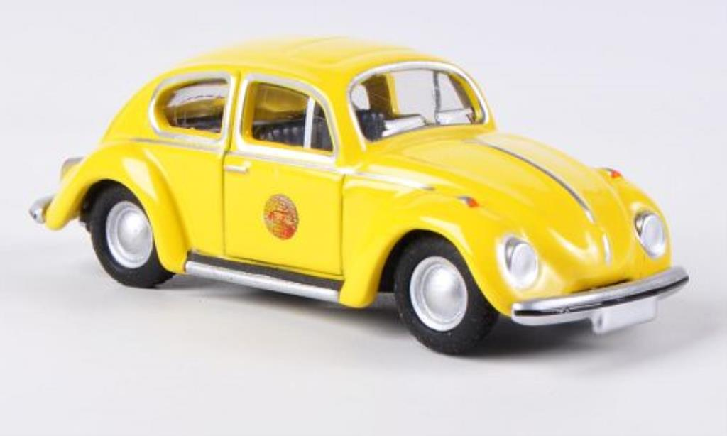 Volkswagen Kafer 1/87 Bub 1302 yellow diecast