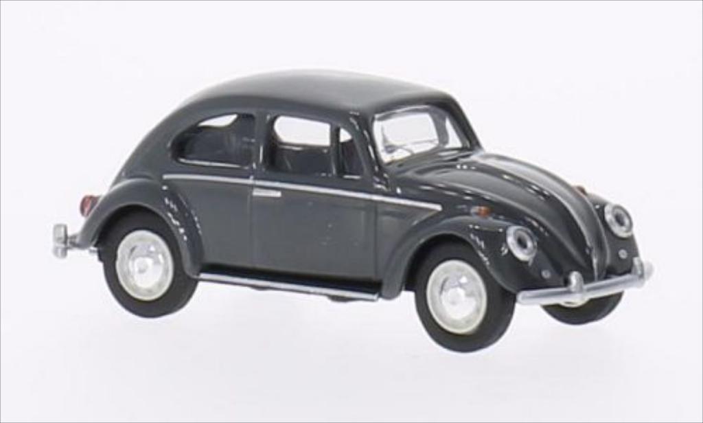 Volkswagen Kafer 1/64 Schuco 1500 gray 1960 diecast