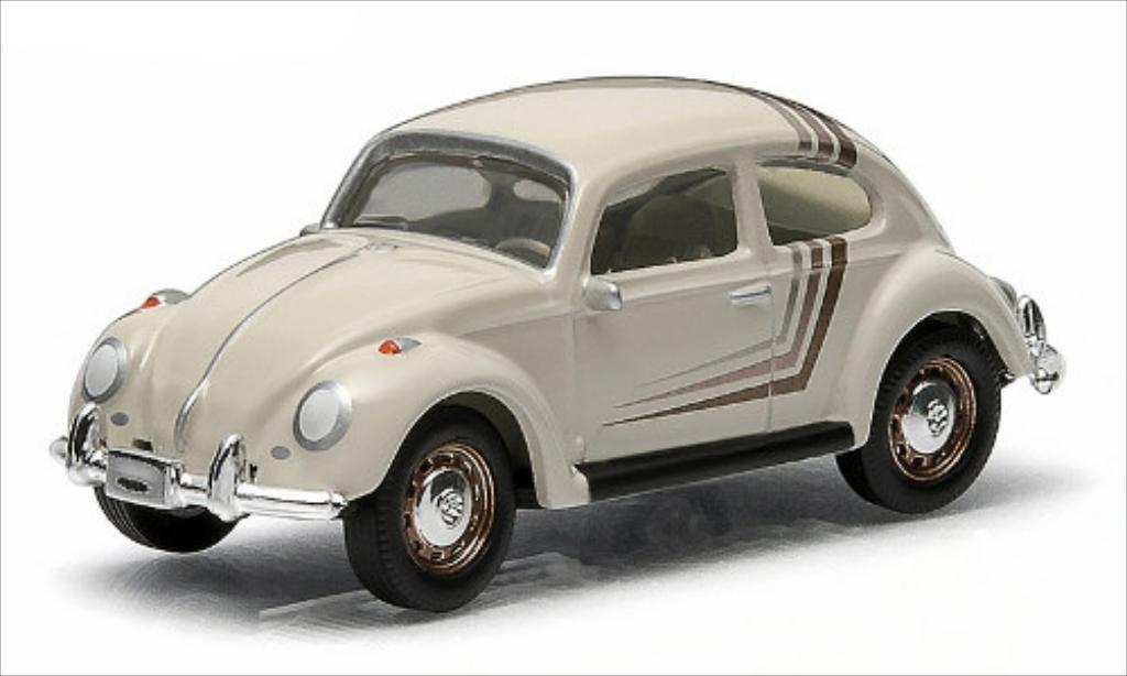 Volkswagen Kafer 1/64 Greenlight beige diecast model cars