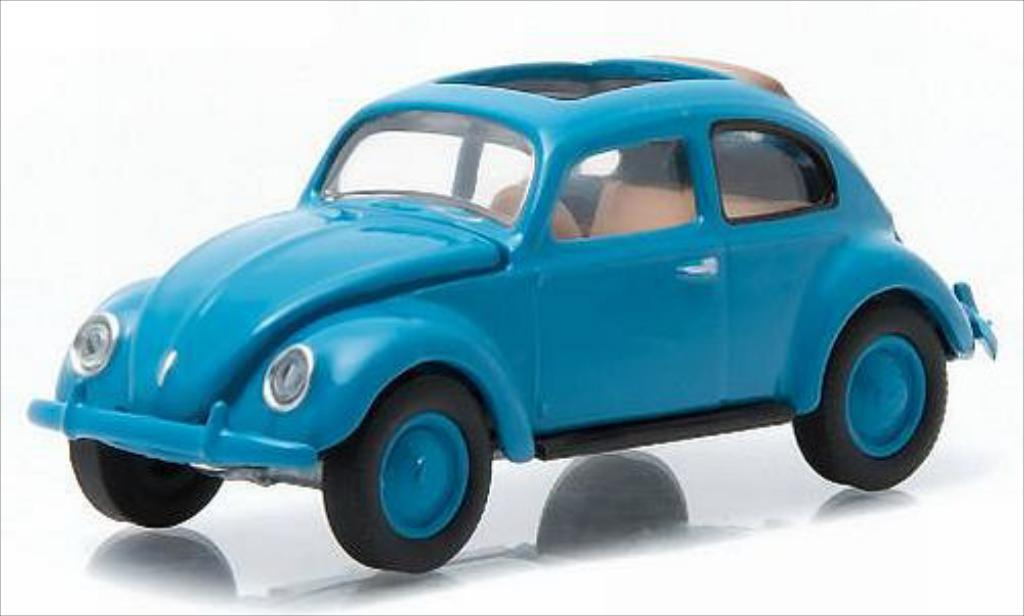Volkswagen Kafer 1/64 Greenlight bleu 1946