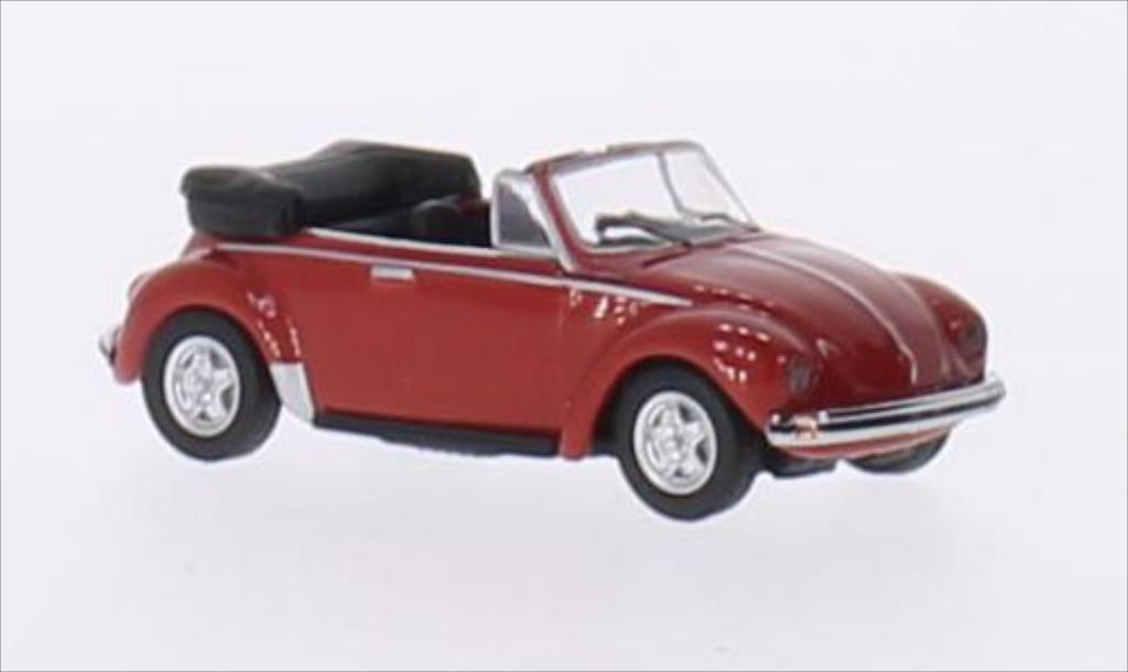 Volkswagen Kafer 1/87 Schuco Cabriolet rouge miniature