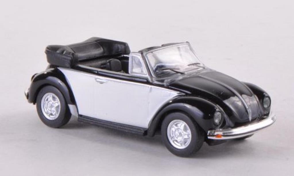 Volkswagen Kafer 1/87 Schuco Cabriolet noire/blanche miniature