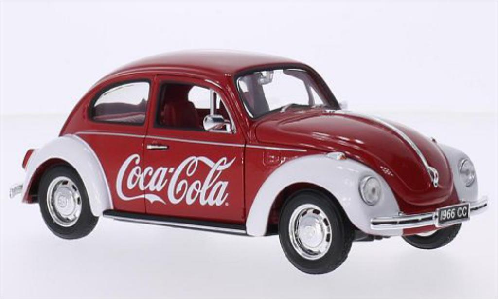 Volkswagen Kafer 1/24 Oxford Coca-Cola modellino in miniatura