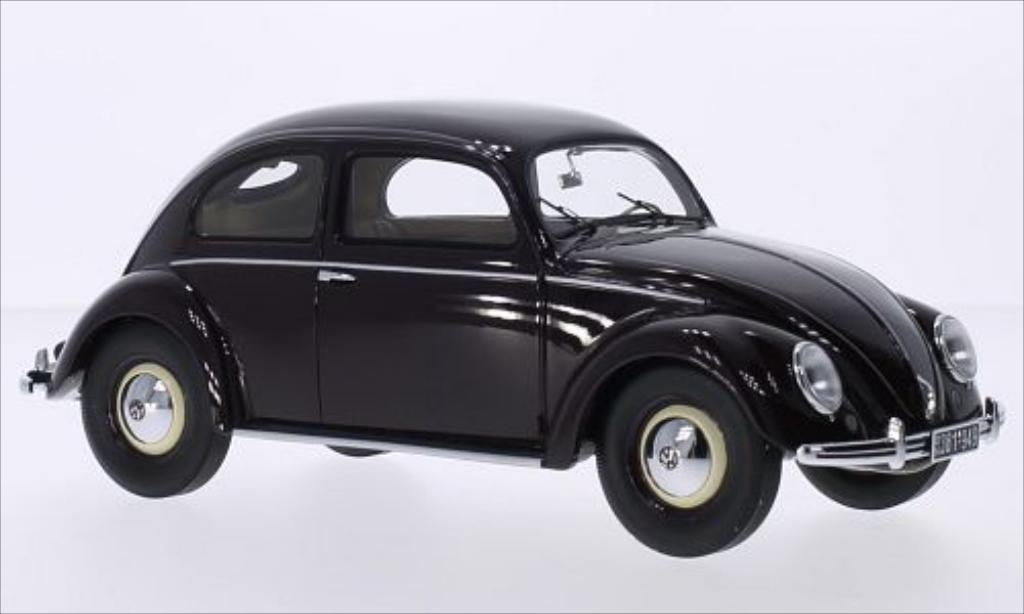 Volkswagen Kafer 1/18 Minichamps red 1949 diecast