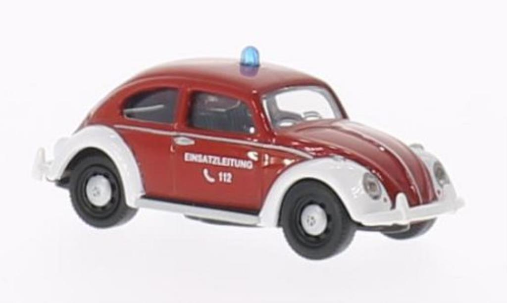 Volkswagen Kafer 1/87 Schuco Feuerwehr - Einsatzleitung diecast model cars