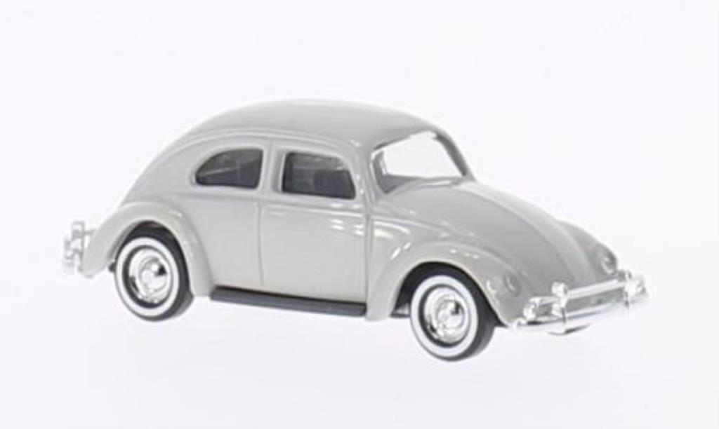 Volkswagen Kafer 1/87 Busch gray Ovalfenster Exportmodell diecast