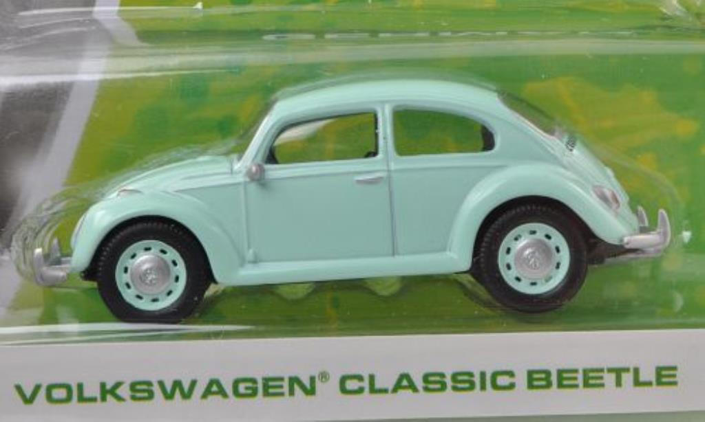 Volkswagen Kafer 1/64 Greenlight turquoise miniature