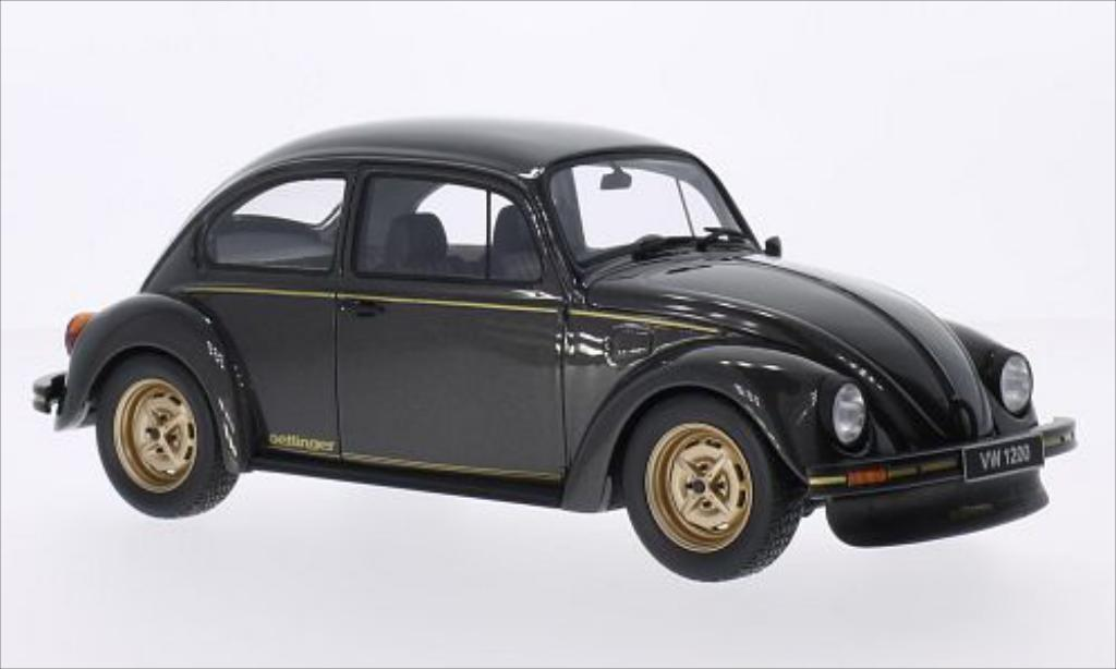Volkswagen Kafer 1/18 Ottomobile Oettinger Okrasa 1200 metallic-anthrazit/gold 1983 miniature