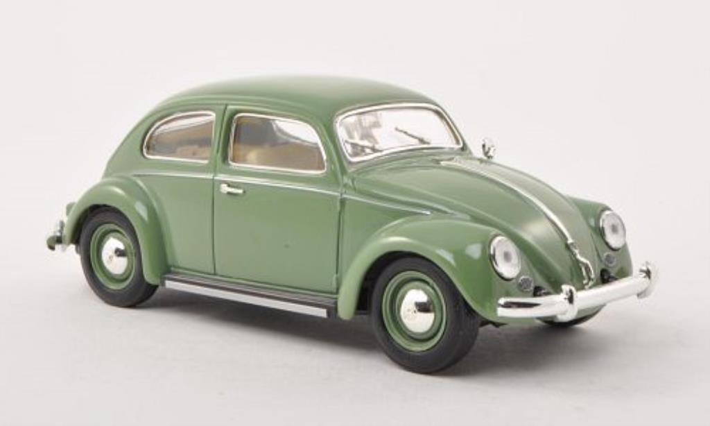 Volkswagen Kafer 1/32 Schuco Ovali grey-grun diecast model cars