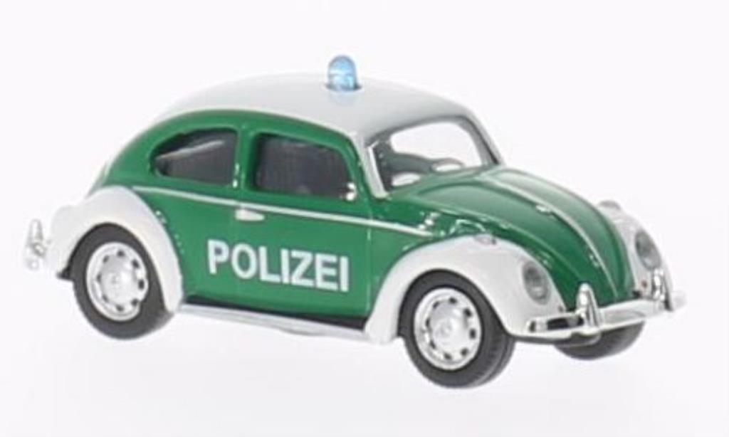 Volkswagen Kafer 1/87 Schuco Polizei diecast