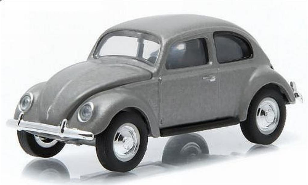 Volkswagen Kafer 1/64 Greenlight gray 1940 diecast