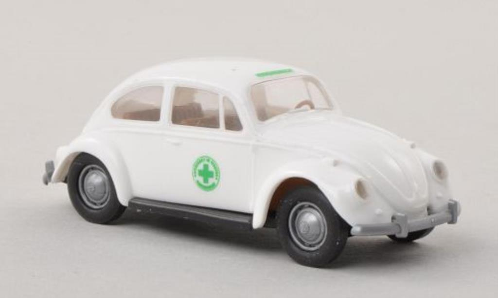 Volkswagen Kafer 1/87 Brekina Verkehrswacht miniature