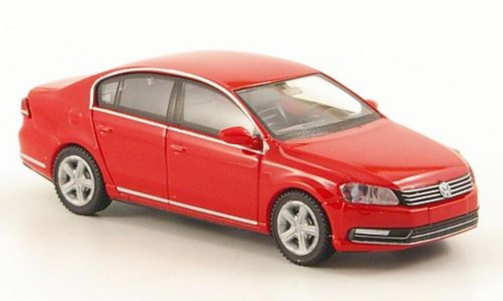 Volkswagen Passat 1/87 Wiking (B7) Limousine rouge miniature