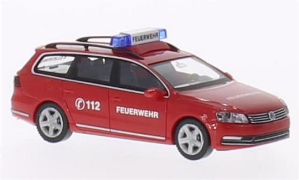 Volkswagen Passat 1/87 Wiking B7 Variant Feuerwehr miniature