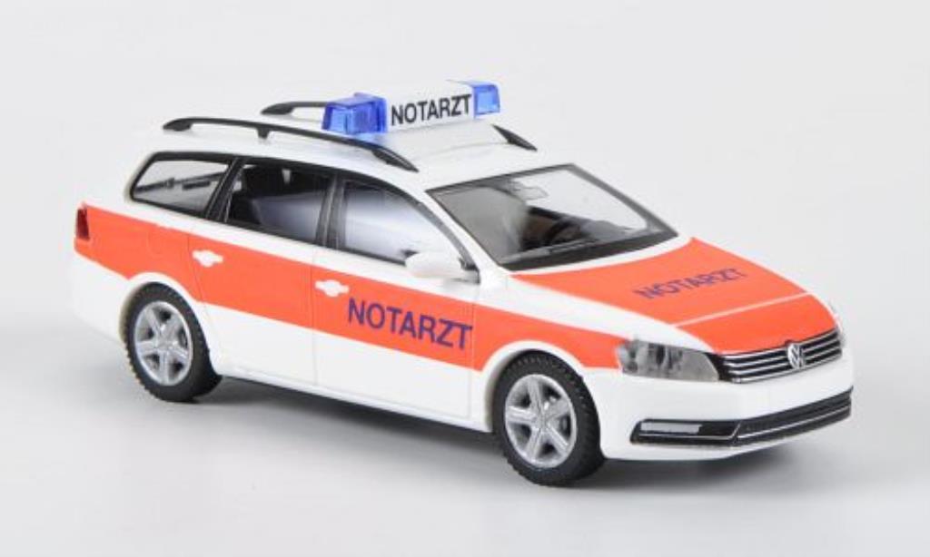 Volkswagen Passat 1/87 Wiking (B7) Variant Notarzt miniature
