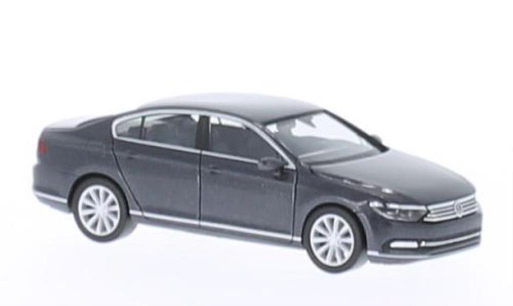 Volkswagen Passat 1/87 Herpa (B8) Limousine grey 2014 diecast model cars