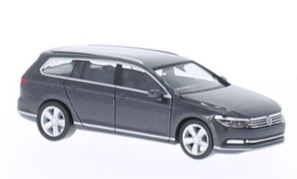 Volkswagen Passat 1/87 Herpa (B8) Variant gray 2014 diecast