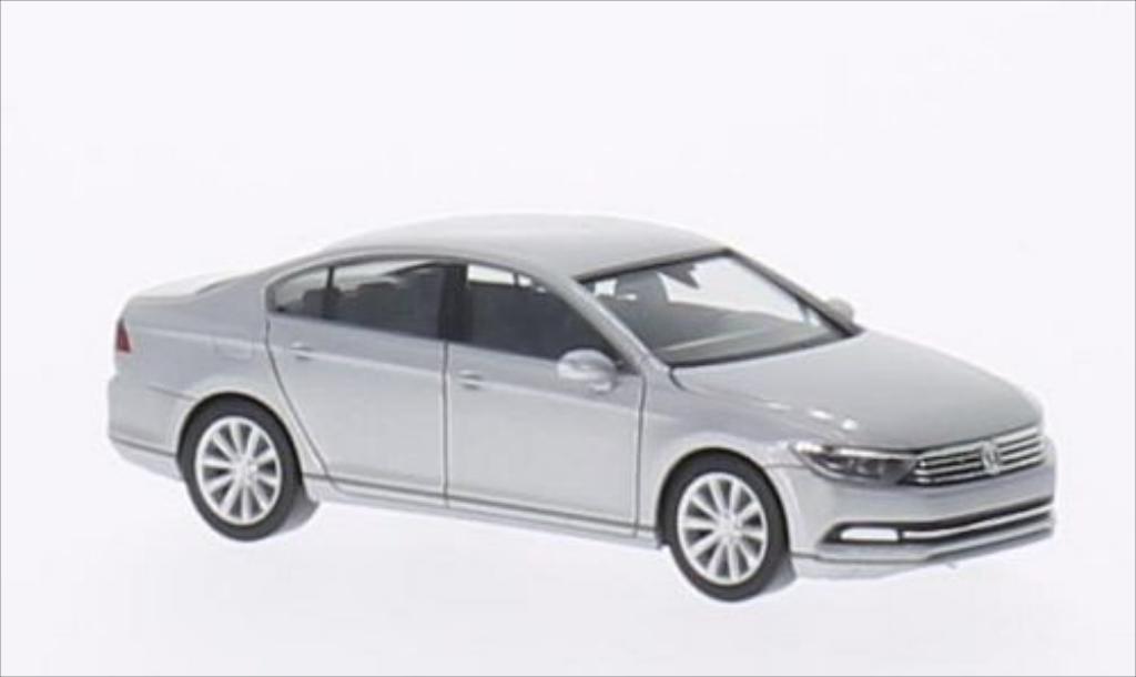 Volkswagen Passat 1/87 Herpa Limousine grise 2014 miniature