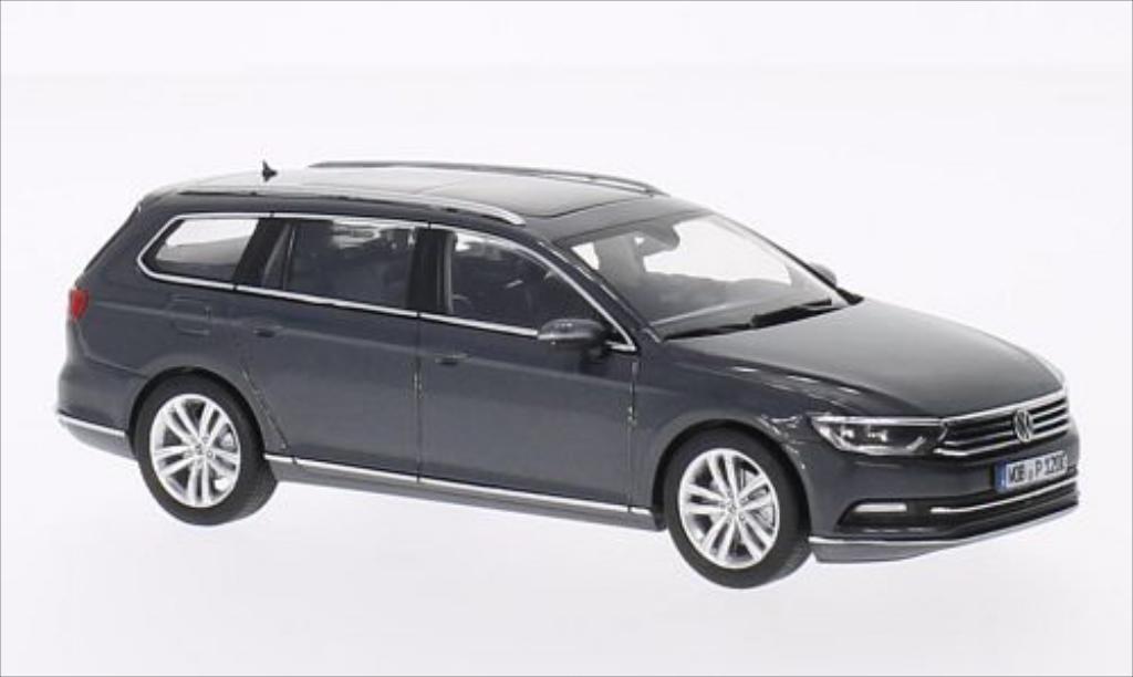 Volkswagen Passat 1/43 Herpa Variant metallise grise 2014