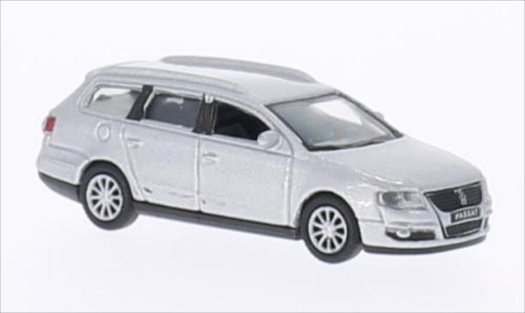 Volkswagen Passat 1/87 Welly Variant grise 2008 miniature