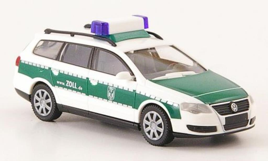 Volkswagen Passat 1/87 Wiking Variant Zoll miniature