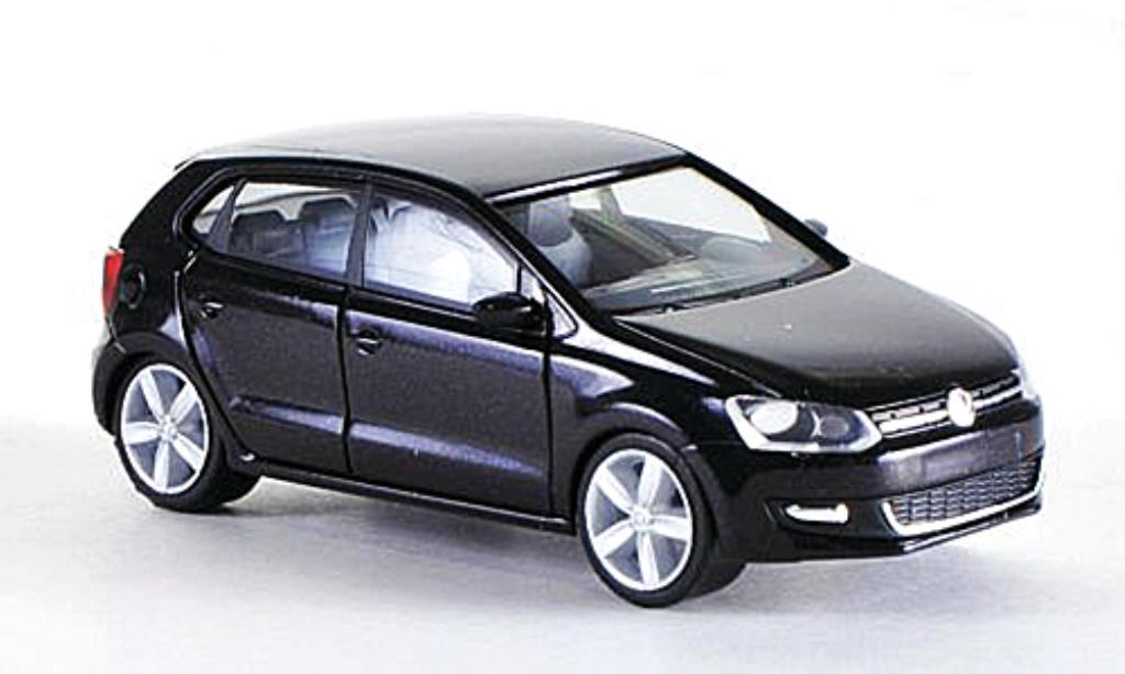 Volkswagen Polo 1/87 Herpa 4-turig black diecast