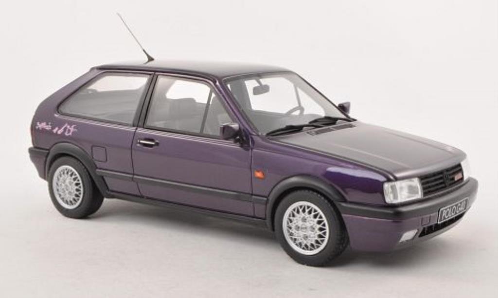 Volkswagen Polo 1/18 Ottomobile II G40 Genesis porpora 1991 modellino in miniatura