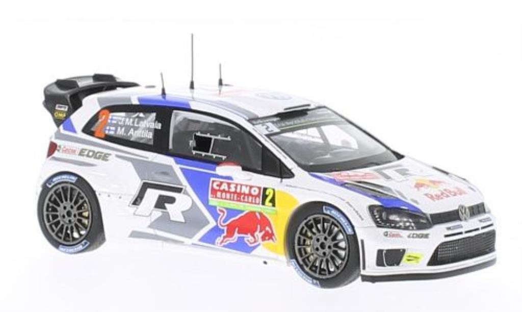 Volkswagen Polo 1/43 Spark R WRC No.2 VW Motorsport Rally Monte Carlo 2014 /M.Anttila diecast