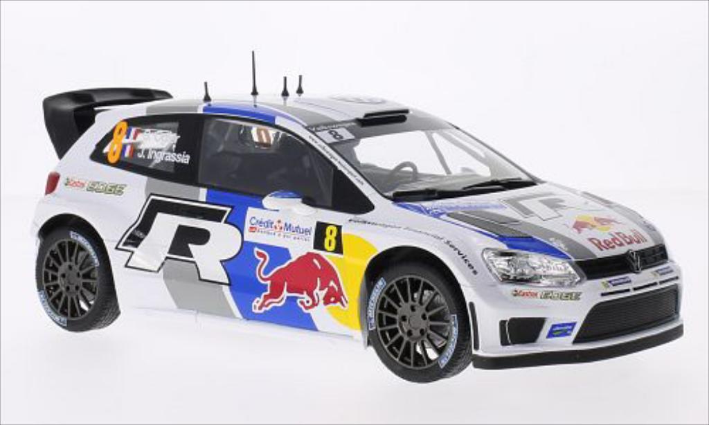 Volkswagen Polo 1/18 Norev R WRC No.8 Red Bull WRC Rallye de France 2013 /J.Ingrassia diecast