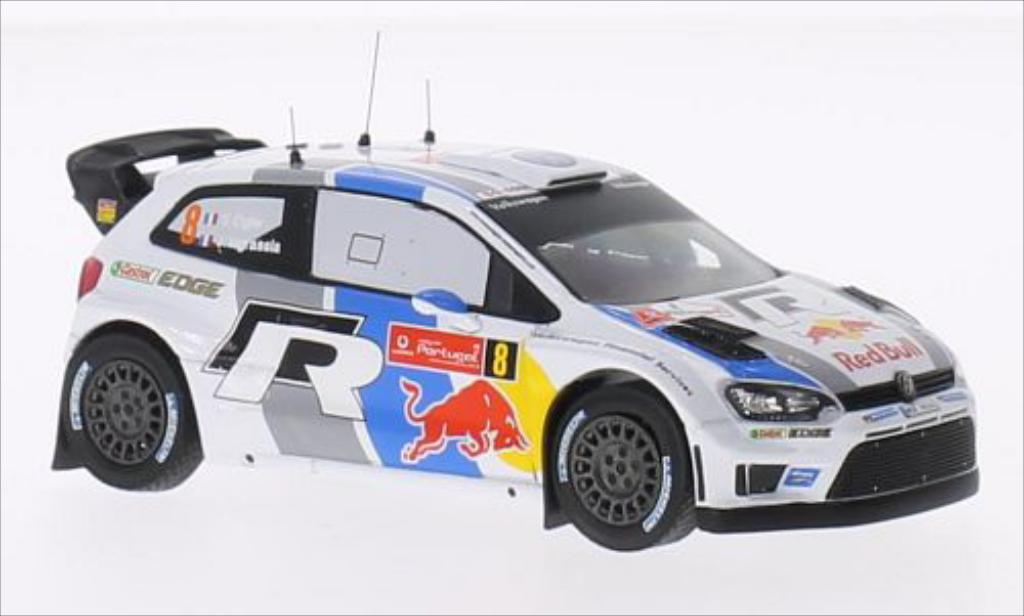 Volkswagen Polo 1/43 IXO R WRC No.8 Motorsport Red Bull Rallye WM Rallye Portugal 2013 /J.Ingrassia miniature