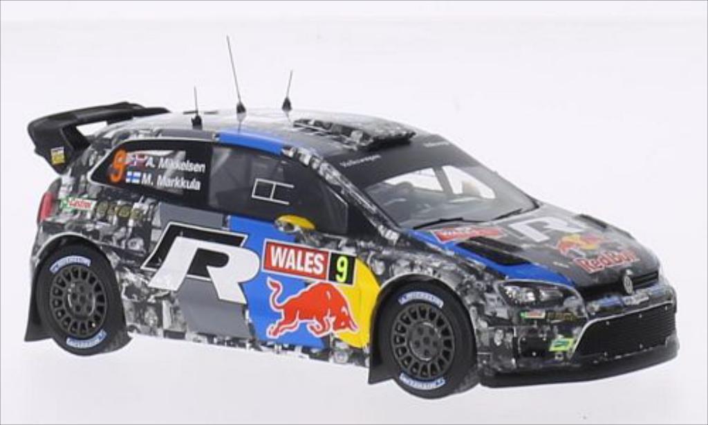 Volkswagen Polo 1/43 IXO R WRC No.9 Rallye WM Rallye Wales 2013 /M.Markula diecast