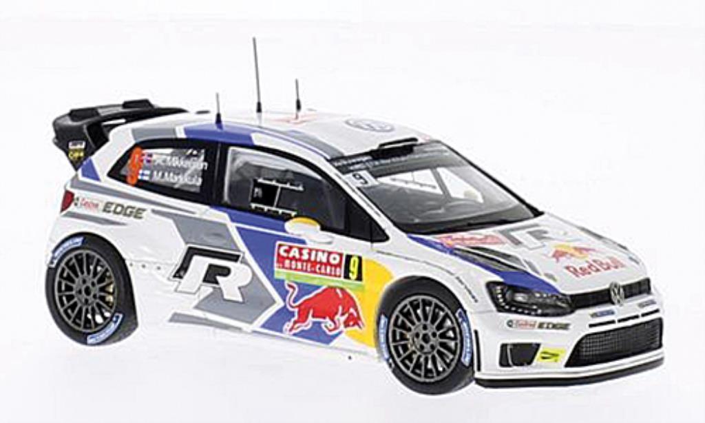 Volkswagen Polo 1/43 Spark R WRC No.9 VW Motorsport II Rally Monte Carlo 2014 /M.Markkula diecast