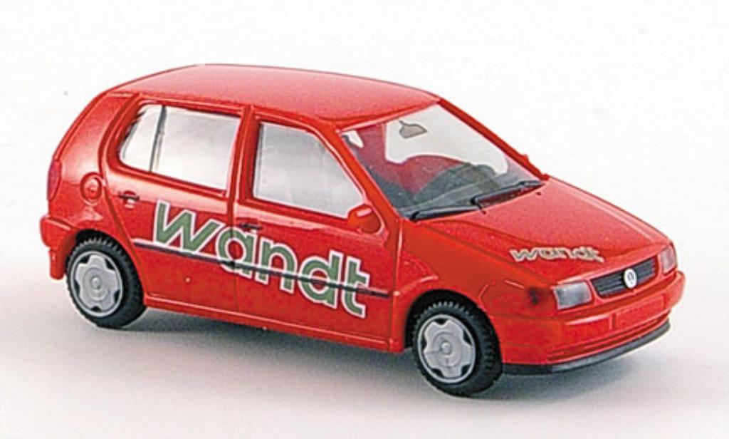 Volkswagen Polo 1/87 Herpa Wandt Transportberatung coche miniatura