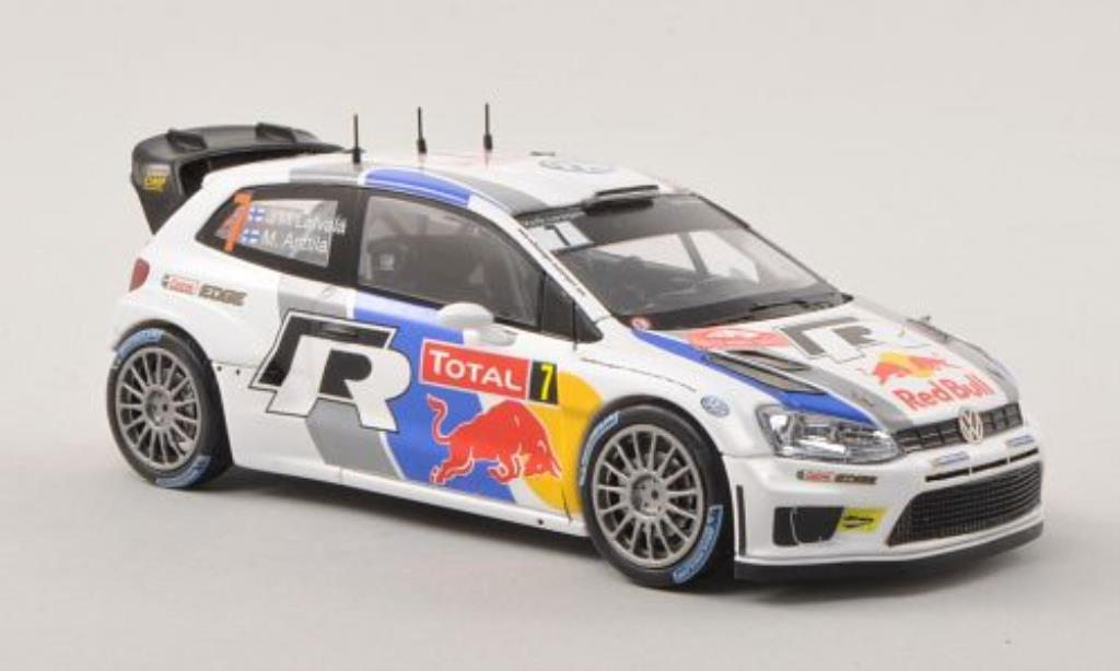 Volkswagen Polo WRC 1/43 Spark WRC No.7 Red Bull Rallye Monte Carlo 2013 miniature