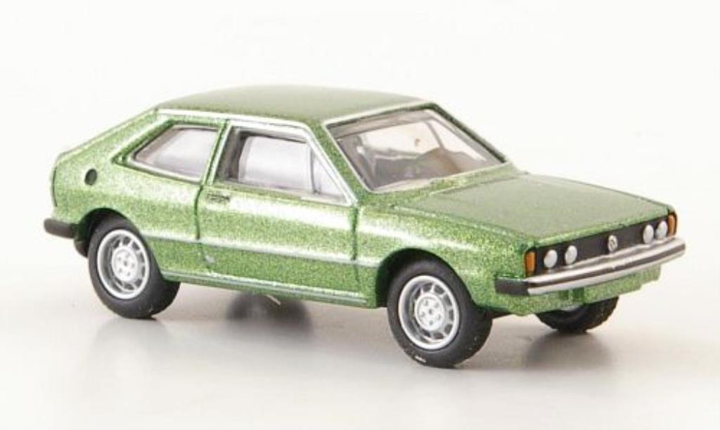 Volkswagen Scirocco 1/87 Bub I green diecast