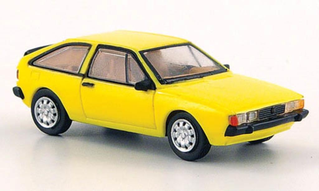 Volkswagen Scirocco 1/87 Norev II yellow 1980 diecast
