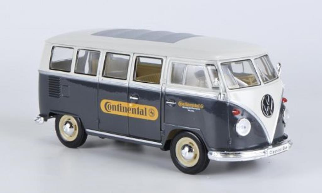 Volkswagen T1 1/24 Welly Bus Continental 1962 diecast model cars