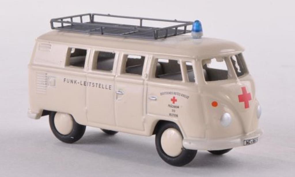 Volkswagen T1 1/87 Bub Bus DRK miniatura