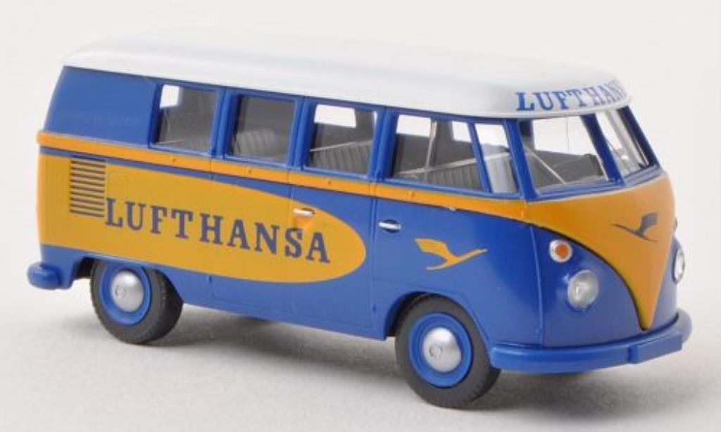 Volkswagen T1 1/87 Wiking Bus Lufthansa miniature