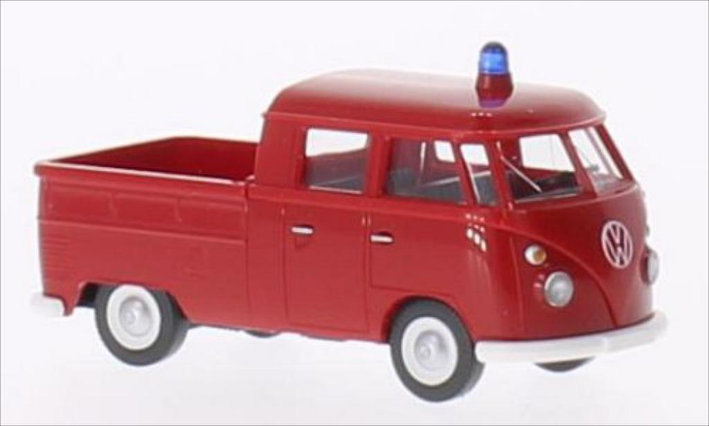 Volkswagen T1 1/87 Wiking DoKa Feuerwehr modellautos