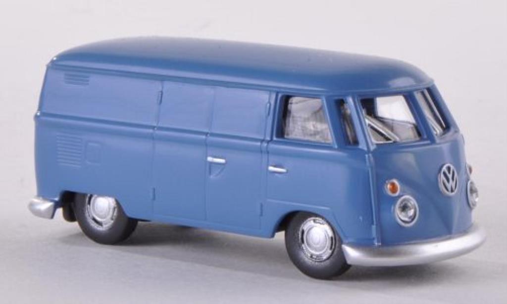Volkswagen T1 1/87 Herpa Kasten bleu diecast
