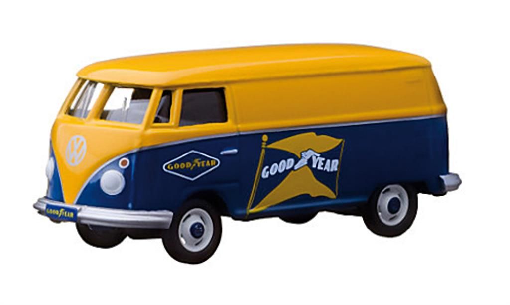 Volkswagen T1 1/64 Greenlight Kasten Goodyear miniature