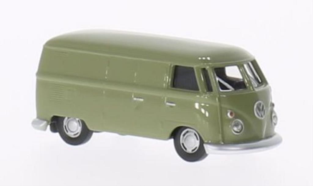 Volkswagen T1 1/87 Herpa Kasten oliv miniature