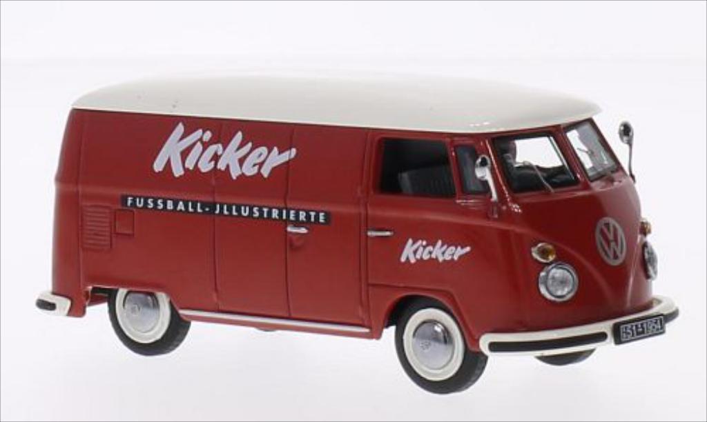 Volkswagen T1 1/43 Schuco Kasten Kicker miniature