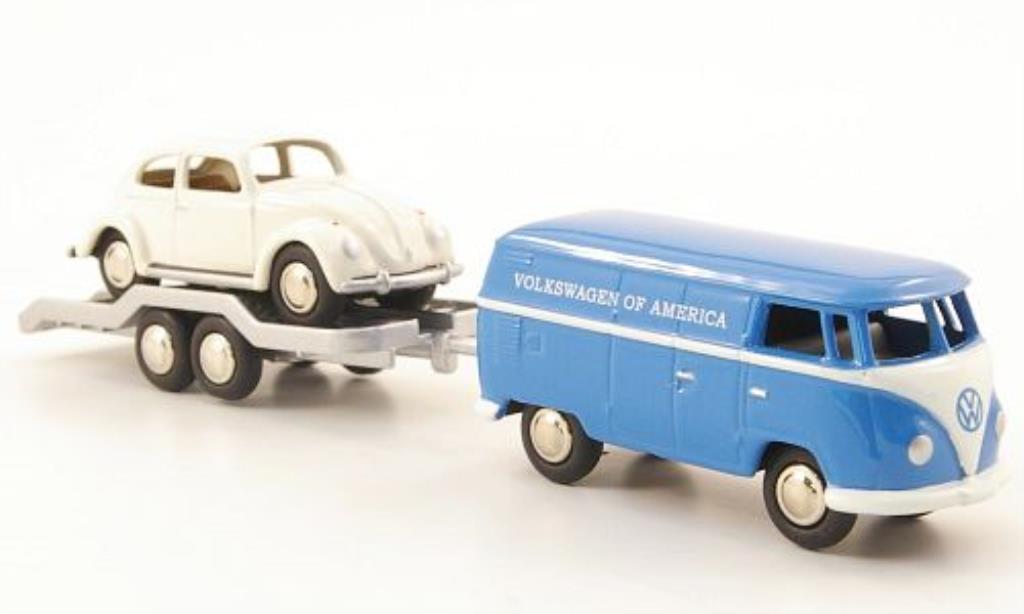 Volkswagen T1 1/87 Bub Kasten of America mit Kafer Service 1960 miniature